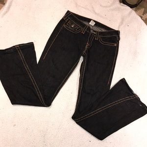 COPY - True religion Joey big t 28w jeans 34l bla…